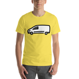 Emoji T-Shirt Store | Delivery Truck emoji t-shirt in Yellow