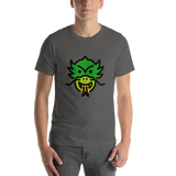 Emoji T-Shirt Store | Dragon Face emoji t-shirt in Dark gray