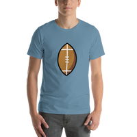 Emoji T-Shirt Store | American Football emoji t-shirt in Blue