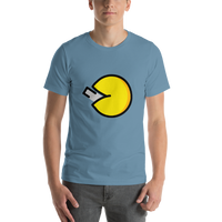 Emoji T-Shirt Store | Fortune Cookie emoji t-shirt in Blue