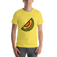 Emoji T-Shirt Store | Melon emoji t-shirt in Yellow