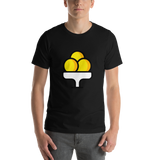 Emoji T-Shirt Store | Ice Cream emoji t-shirt in Black