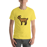 Emoji T-Shirt Store | Goat emoji t-shirt in Yellow