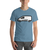 Emoji T-Shirt Store | Delivery Truck emoji t-shirt in Blue