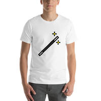 Emoji T-Shirt Store | Magic Wand emoji t-shirt in White