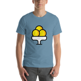 Emoji T-Shirt Store | Ice Cream emoji t-shirt in Blue