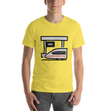 Emoji T-Shirt Store | Station emoji t-shirt in Yellow