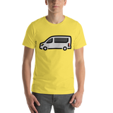 Emoji T-Shirt Store | Minibus emoji t-shirt in Yellow