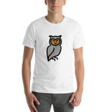 Emoji T-Shirt Store | Owl emoji t-shirt in White