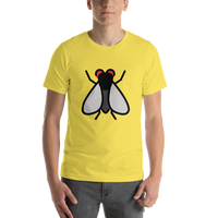 Emoji T-Shirt Store | Fly emoji t-shirt in Yellow