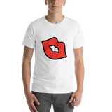 Emoji T-Shirt Store | Kiss Mark emoji t-shirt in White