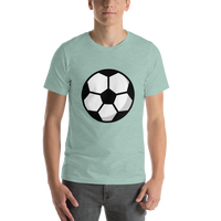 Emoji T-Shirt Store | Soccer Ball emoji t-shirt in Green