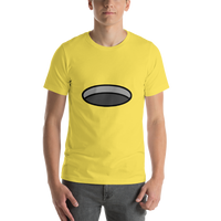Emoji T-Shirt Store | Hole emoji t-shirt in Yellow