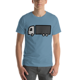 Emoji T-Shirt Store | Articulated Lorry emoji t-shirt in Blue
