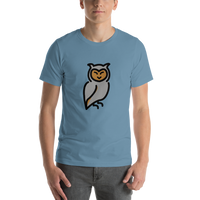 Emoji T-Shirt Store | Owl emoji t-shirt in Blue