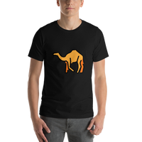 Emoji T-Shirt Store | Camel emoji t-shirt in Black