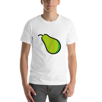 Emoji T-Shirt Store | Pear emoji t-shirt in White