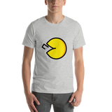 Emoji T-Shirt Store | Fortune Cookie emoji t-shirt in Light gray