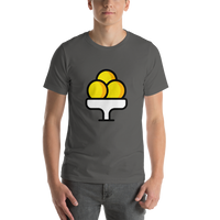 Emoji T-Shirt Store | Ice Cream emoji t-shirt in Dark gray
