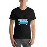 Emoji T-Shirt Store | Trolleybus emoji t-shirt in Black