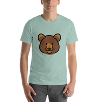 Emoji T-Shirt Store | Bear emoji t-shirt in Green