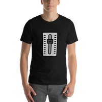 Emoji T-Shirt Store | Level Slider emoji t-shirt in Black