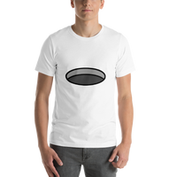 Emoji T-Shirt Store | Hole emoji t-shirt in White