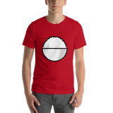 Emoji T-Shirt Store | Cooked Rice emoji t-shirt in Red