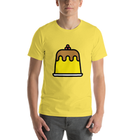 Emoji T-Shirt Store | Custard emoji t-shirt in Yellow
