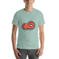 Emoji T-Shirt Store | Cut Of Meat emoji t-shirt in Green