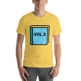 Emoji T-Shirt Store | Blue Book emoji t-shirt in Yellow
