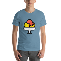 Emoji T-Shirt Store | Shaved Ice emoji t-shirt in Blue