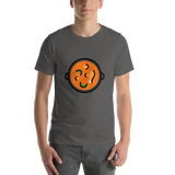 Emoji T-Shirt Store | Shallow Pan Of Food emoji t-shirt in Dark gray