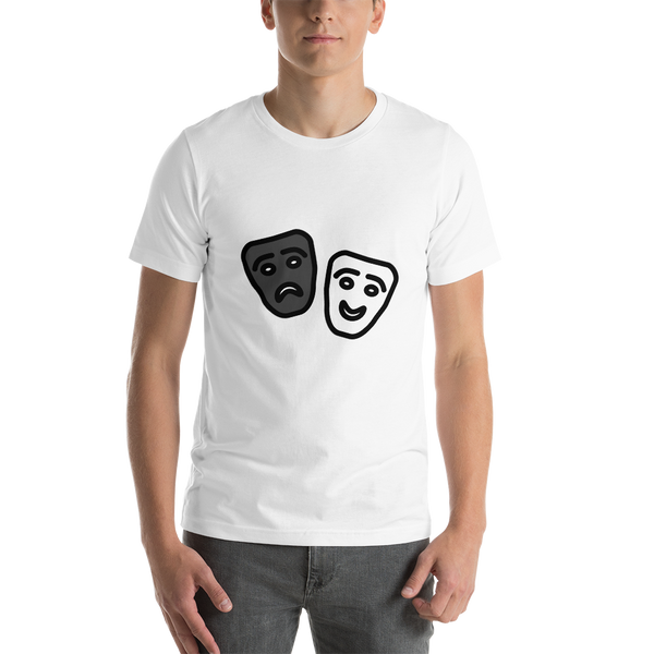Emoji T-Shirt Store | Performing Arts emoji t-shirt in White
