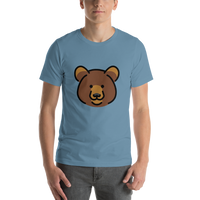 Emoji T-Shirt Store | Bear emoji t-shirt in Blue