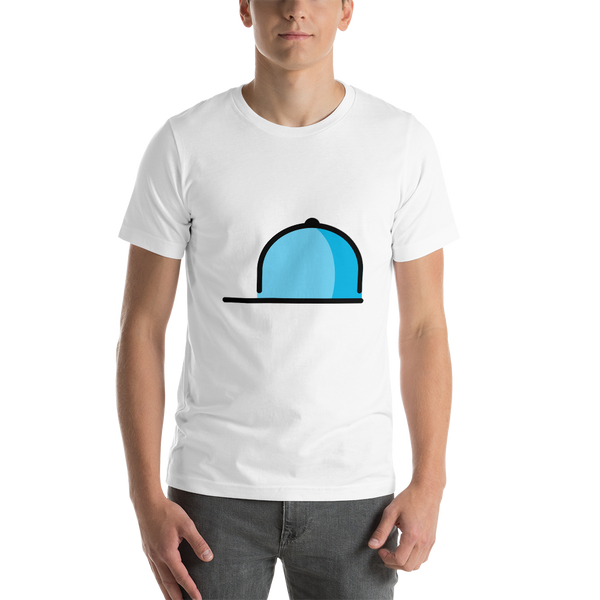 Emoji T-Shirt Store | Billed Cap emoji t-shirt in White