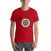 Emoji T-Shirt Store | Direct Hit emoji t-shirt in Red