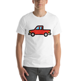 Emoji T-Shirt Store | Pickup Truck emoji t-shirt in White