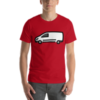 Emoji T-Shirt Store | Delivery Truck emoji t-shirt in Red