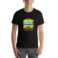 Emoji T-Shirt Store | Oncoming Bus emoji t-shirt in Black