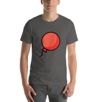 Emoji T-Shirt Store | Balloon emoji t-shirt in Dark gray