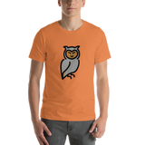 Emoji T-Shirt Store | Owl emoji t-shirt in Orange