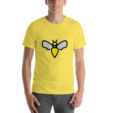 Emoji T-Shirt Store | Honeybee emoji t-shirt in Yellow