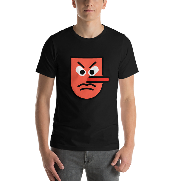 Emoji T-Shirt Store | Goblin emoji t-shirt in Black