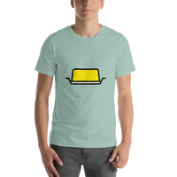 Emoji T-Shirt Store | Butter emoji t-shirt in Green