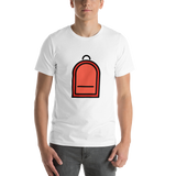 Emoji T-Shirt Store | Backpack emoji t-shirt in White