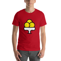 Emoji T-Shirt Store | Ice Cream emoji t-shirt in Red