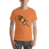 Emoji T-Shirt Store | Oden emoji t-shirt in Orange