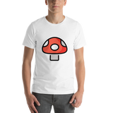 Emoji T-Shirt Store | Mushroom emoji t-shirt in White