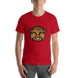 Emoji T-Shirt Store | See-No-Evil Monkey emoji t-shirt in Red